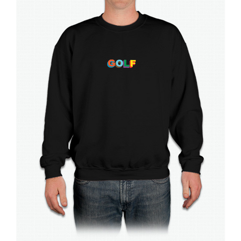 Multi-color 3D Golf Wang Crewneck Sweatshirt