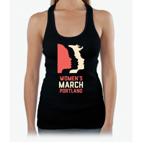 Official Women's March Portland Womens Tank Top