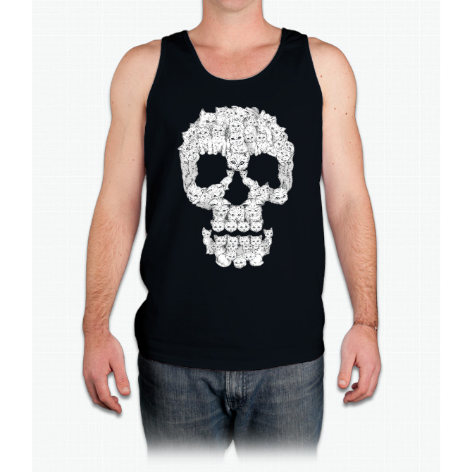 Skulls are for Pussies - Mens Tank Top