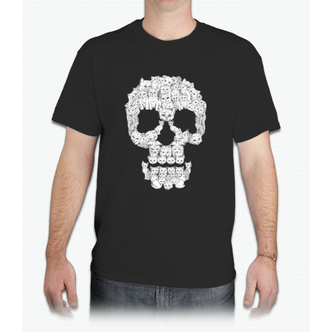 Skulls are for Pussies - Mens T-Shirt