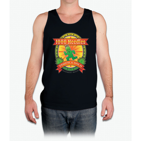 1,000 Needles Tequila - Mens Tank Top