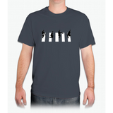 Ministry of silly walks/abbey road - Mens T-Shirt