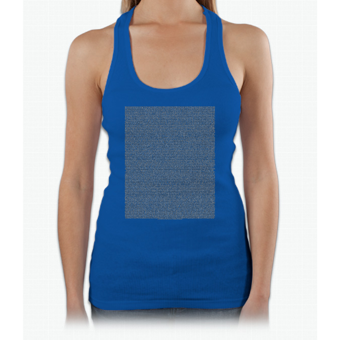 Bee Movie Script (Updated: Check Description For Details) Womens Tank Top