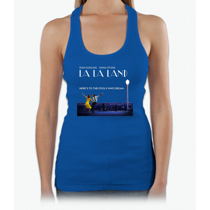 La La Land Womens Tank Top