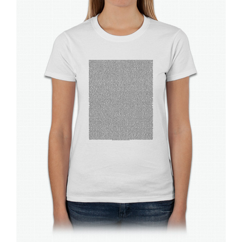 Bee Movie Script (Updated: Check Description For Details) Womens T-Shirt