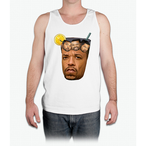 Just Some Ice Tea and Ice Cubes - Mens Tank Top