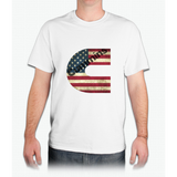 Cummins American Flag - Mens T-Shirt