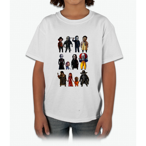 Icons of Horror Young T-Shirt