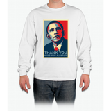 Obama - Thank You, Miss You Already Long Sleeve T-Shirt