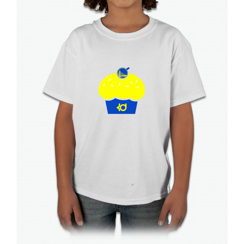 "GSW - KD Kevin Durant Cupcake ""Reverse Troll"" Shirt 2 Young T-Shirt"