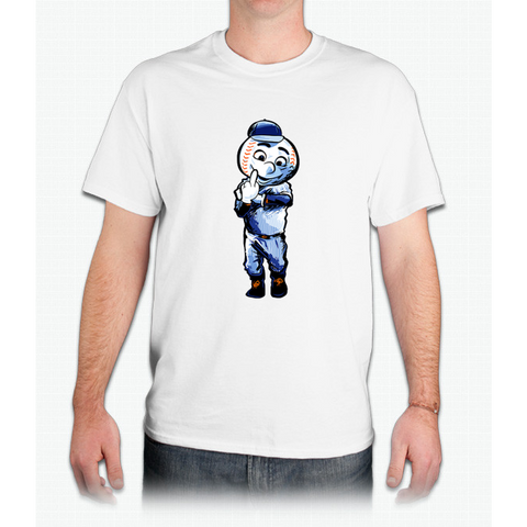 Mr. Met Middle Finger - Mens T-Shirt