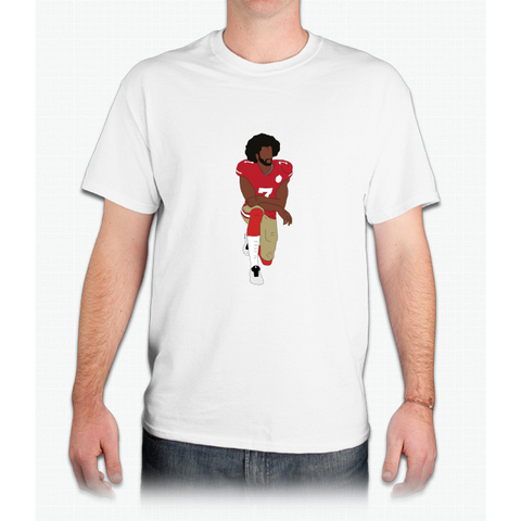 Colin Kaepernick Kneeling - Mens T-Shirt