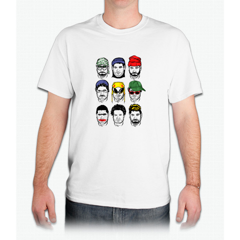 The Faces of H3H3 - Mens T-Shirt