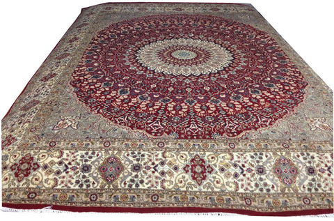Silk /wool Qom-10' x 8'