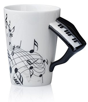 Piano Instrument Mug - Ceramic