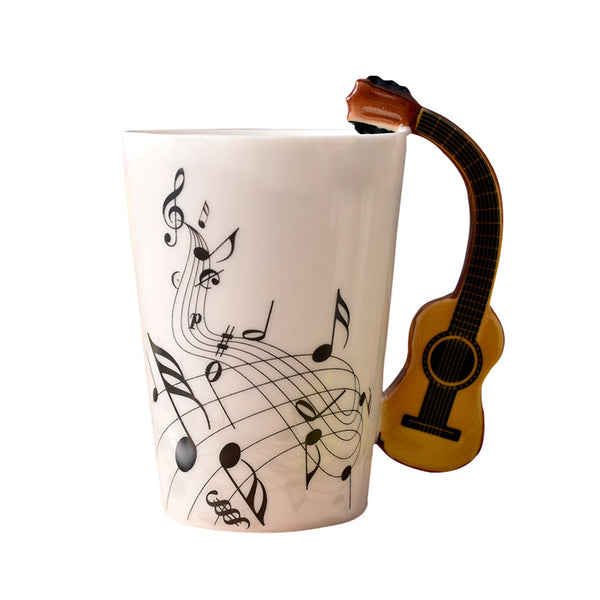 Guitar Instrument Mug - Ceramic