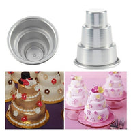 Mini 3-Tier Cake Mold