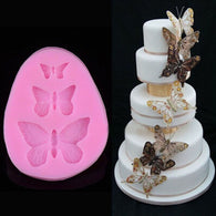 3D Butterfly Cake Mold