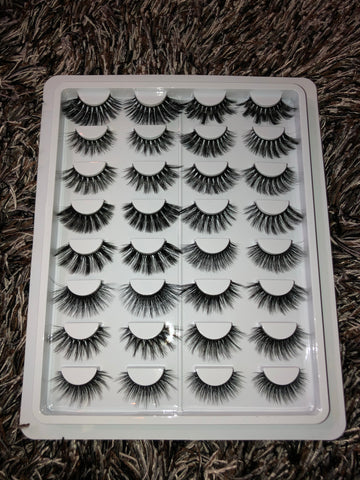 The Falsie Collection- 16 Synthetic lashes
