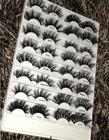 DearDiary: LashBook (16 lashes) - 25 MM