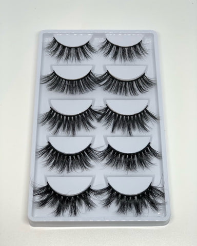 NATURAL TINGS- 5 PIECE LASH TRAY