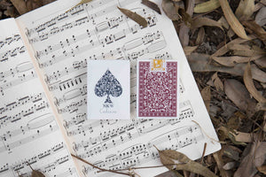 NKW Playing Cards - Cadenza - the most elegant marked deck for magic and cardistry with 3 powerful marking systems.
