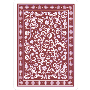 Cadenza: vintage red edition. Comes with 3 marking systems for magic and cardistry.