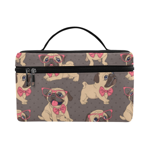 Image of Pug 2  Cosmetic Bag