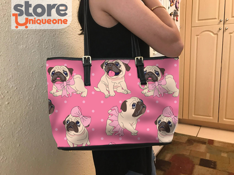 Image of Pug Pink Cute