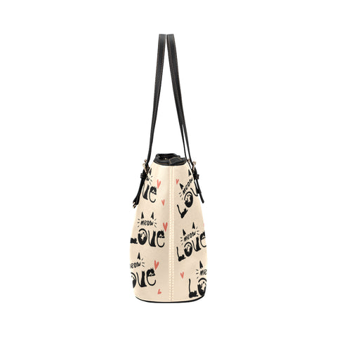 Image of Cat Vector Tote Bag