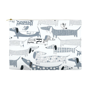 Dachshund Vector Accessory Pouches