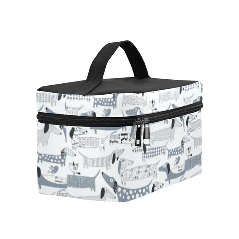 Dachshund Vector Cosmetic Bag