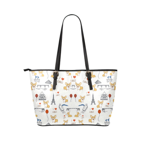 Image of Corgi The World Wonders Tote Bag