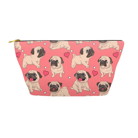 Pug Love Accessory Pouches