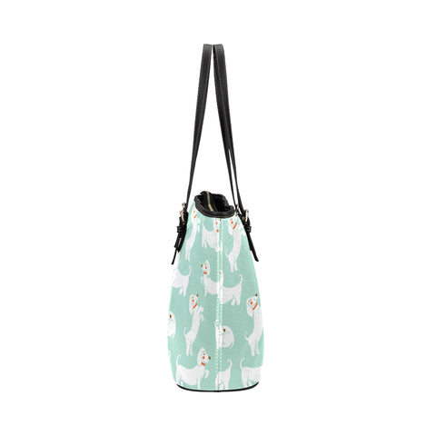 Image of Dachshund Mint Tote Bag