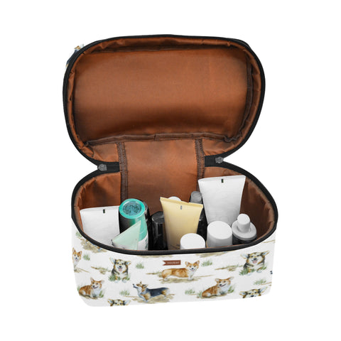 Corgi Cosmetic Bag