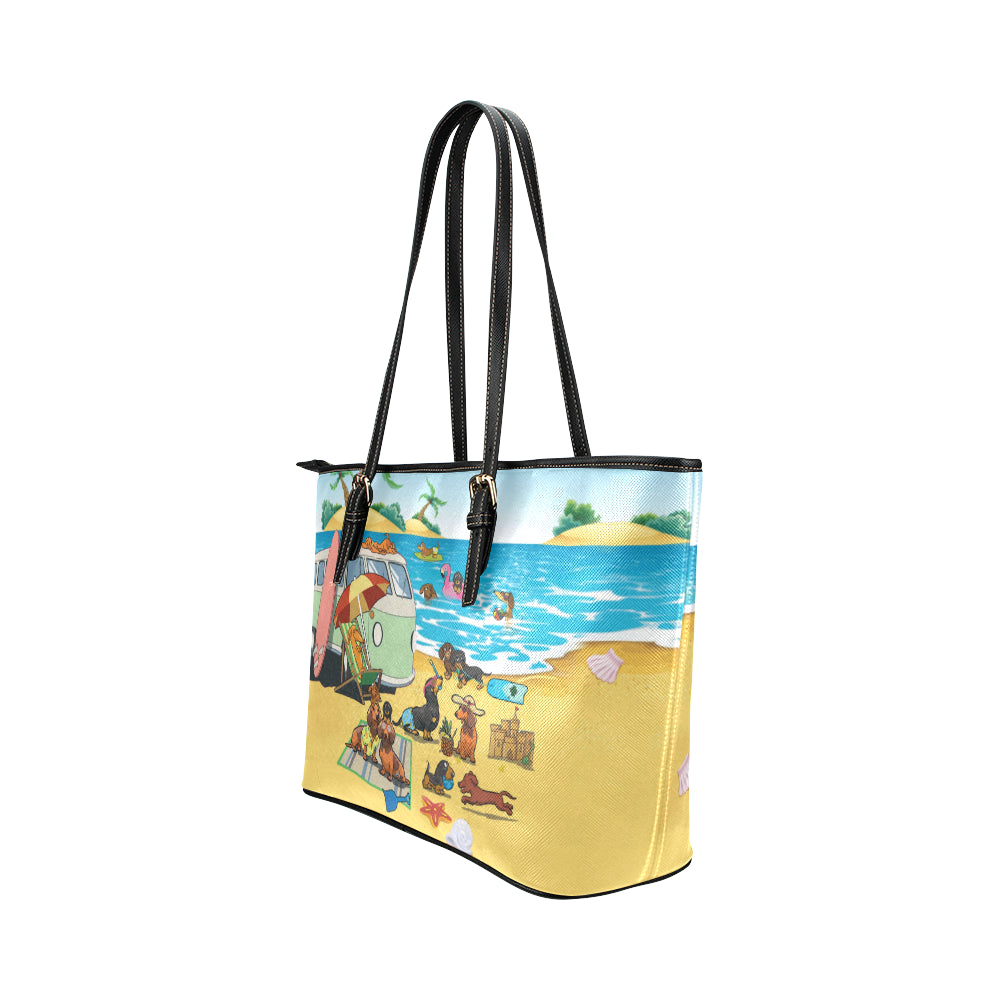 Dachshund Beach Tote bag