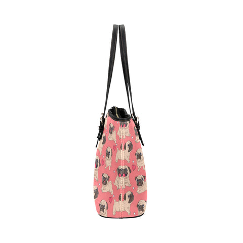 Image of Pug Cute Tote Bags