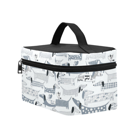 Image of Dachshund Vector Cosmetic Bag