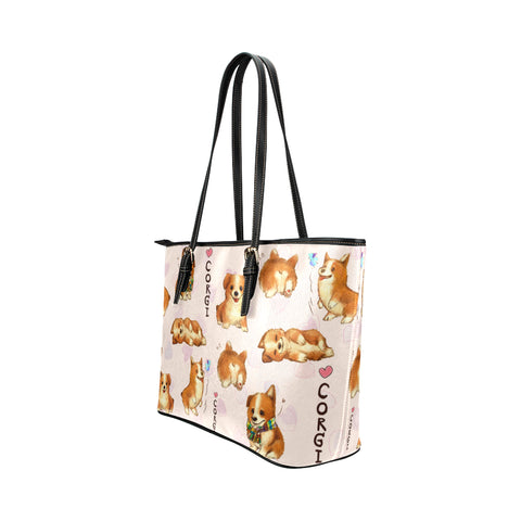 Image of Corgi butt big Tote Bag
