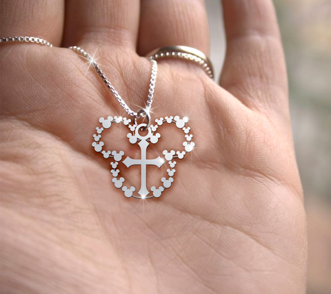 Cross Handmade Sterling Silver Necklace