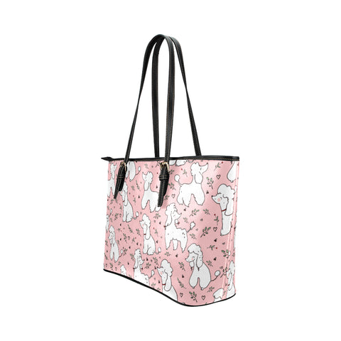 Image of Poodle Pink Tote bag