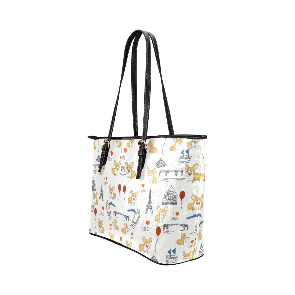 Corgi The World Wonders Tote Bag