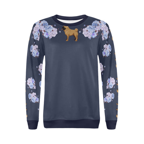 Image of Sweater Pug Print Full