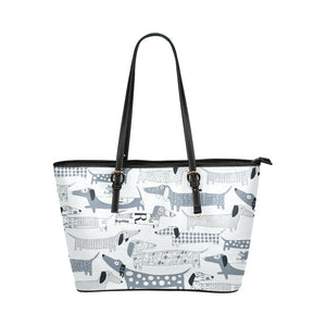 Dachshund Vector Tote Bag