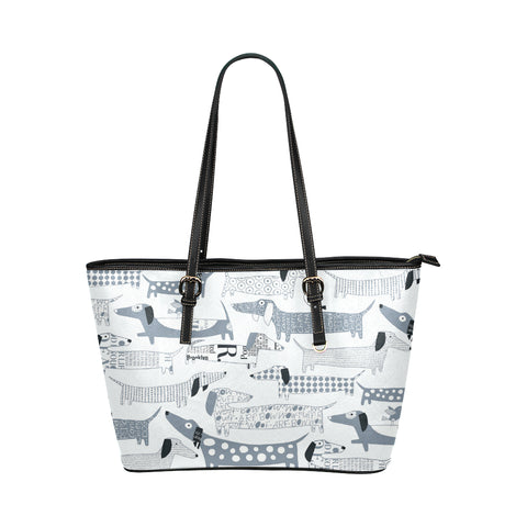 Image of Dachshund Vector Tote Bag
