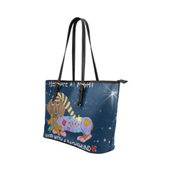 Safe with Dachshund Tote Bag