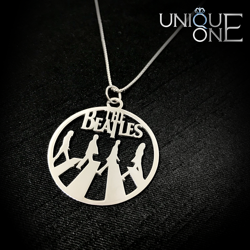 The Beatles Handmade Sterling Silver Necklace Pre-Order