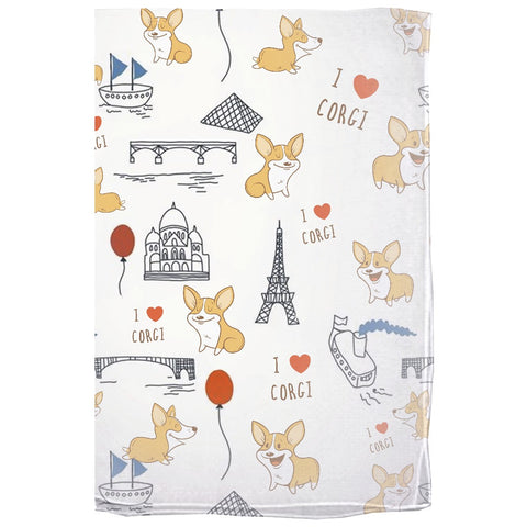 Image of Corgi The World Wonders Scarves