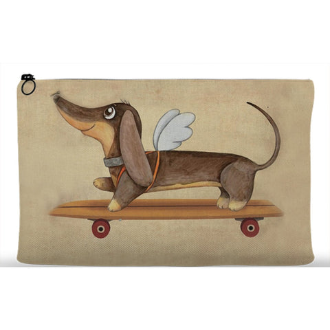 Image of Dachshund angel Pouches